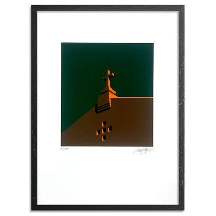 Randy Hipke Art Print - Church - Green