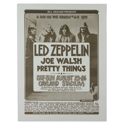 Randy Tuten Art - Led Zeppelin, Joe Walsh