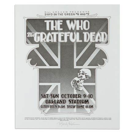 Randy Tuten Art - The Who, Grateful Dead