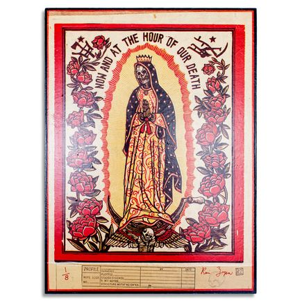 Ravi Zupa Original Art - Now And At The Hour Of Our Death 1 - Original Artwork