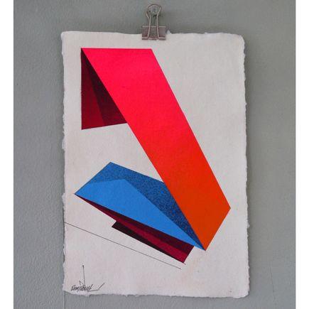 Remi Rough Original Art - Neon 14
