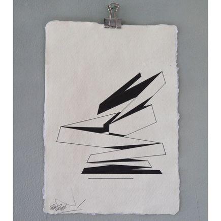 Remi Rough Original Art - Structure Series 04