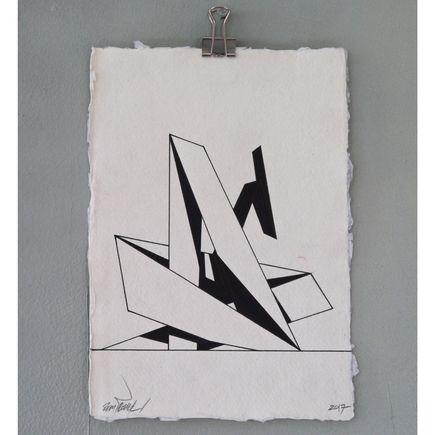 Remi Rough Original Art - Structure Series 08