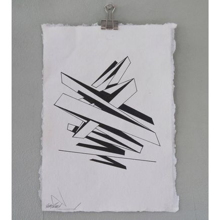Remi Rough Original Art - Structure Series 10