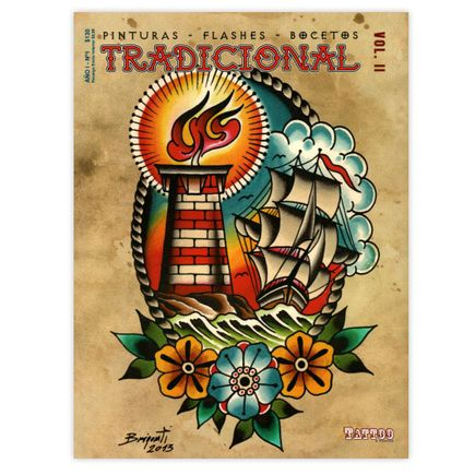 Revista Arte Tattoo Book - Tradicional Vol. II