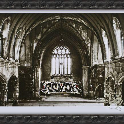 Revok Art Print - Sacrilege Framed AP