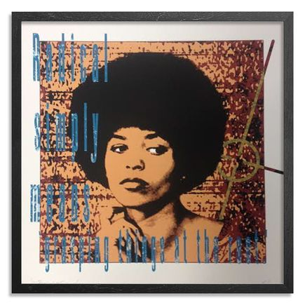 Richard Duardo x Lekit Im Art Print - Portrait Of Angela Davis