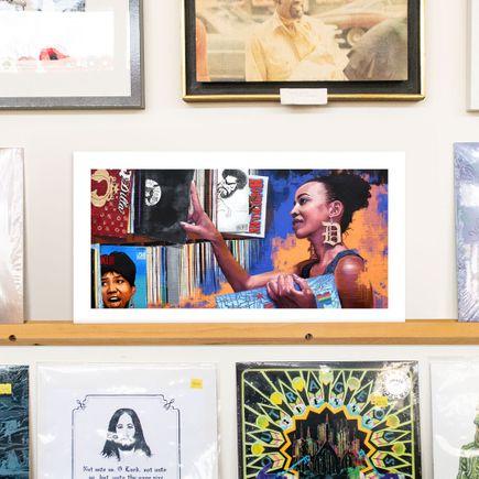 Richard Wilson Art Print - Music In Me - Detroit