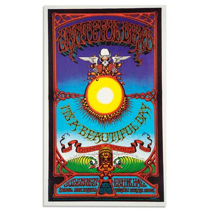 Rick Griffin Art - Grateful Dead, It\'s A Beautiful Day