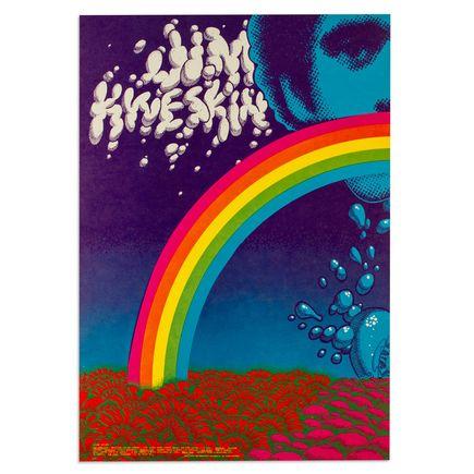 Rick Griffin Art - Jim Kweskin Jug Band in Denver, Colorado - December 1967 (Left)
