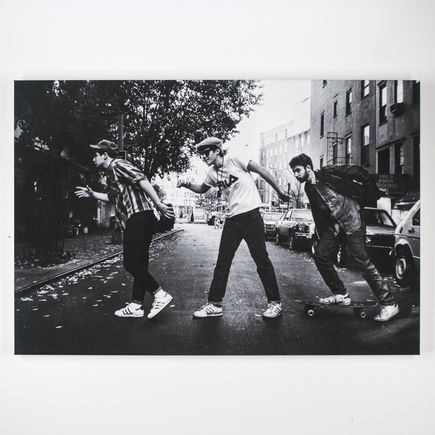 Ricky Powell Art Print - The Charles Street Shuffle - Canvas Edition