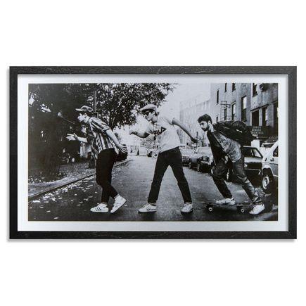 Ricky Powell Art Print - The Charles Street Shuffle - Aluminum Edition