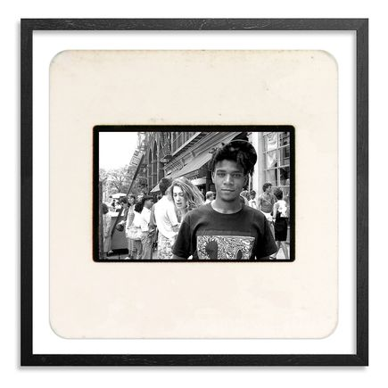 Ricky Powell Art Print - Basquiat. West Broadway From My Forozade Cart. 1986 Mini Slide