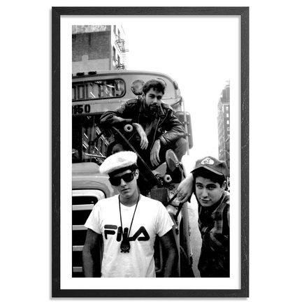 Ricky Powell Art Print - From My 1st Official Beastie Boys Shoot May 1986