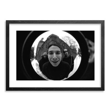 Ricky Powell Art - Beastie Boys III - Mulberry Street, NYC, 1993 - Centrifugal Champipple Bubble Edition