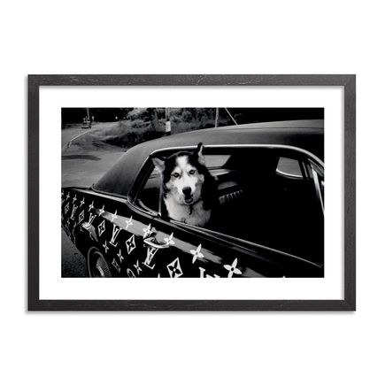 Ricky Powell Art Print - Dogs Know the Diggy Wiggy.  Catskills. NY. 1999 - Limited Edition Print