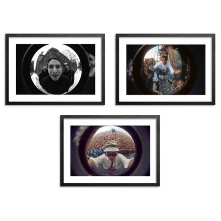 Ricky Powell Art - Set III - 3-Print Set - Centrifugal Champipple Bubble Editions -