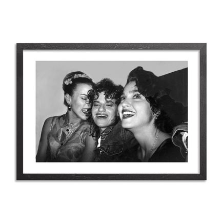 Ricky Powell Art - Debi Sandra Madonna 3xDope NYC 1988 - Limited Edition Print