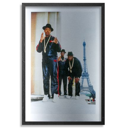 Ricky Powell Art Print - Run DMC - Paris - 1987 - Aluminum Edition