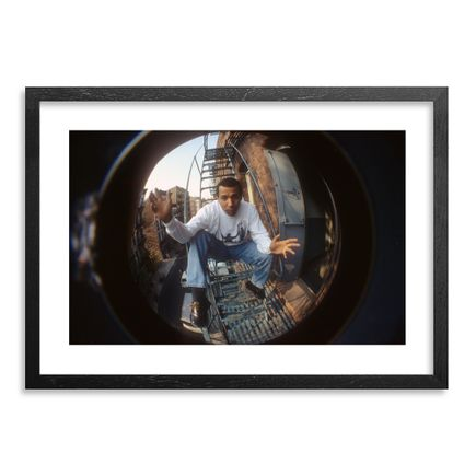 Ricky Powell Art - Dondi, Mott Street. NYC. 1993 - Centrifugal Champipple Bubble Edition
