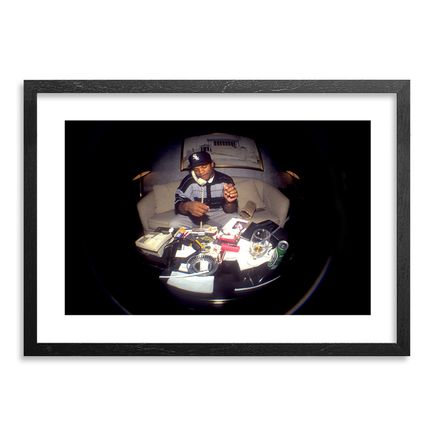 Ricky Powell Art - Eazy E - Hilton Hotel - 1993 - Centrifugal Champipple Bubble Edition