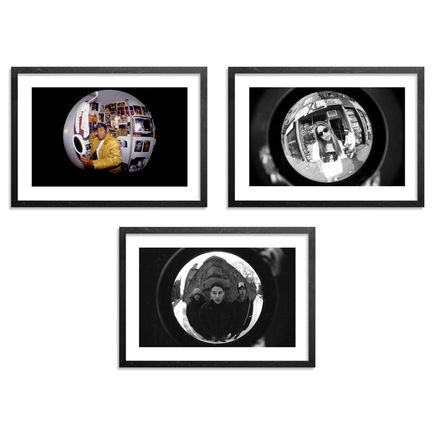 Ricky Powell Art Print - Set II - 3-Print Set - Centrifugal Champipple Bubble Editions