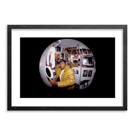 Ricky Powell Art Print - Kool Keith - Black Elvis - Centrifugal Champipple Bubble Edition