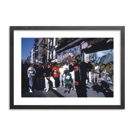 Ricky Powell Art Print - KRS One. You Must Learn Video. NYC. 1988. - Limited Edition Print