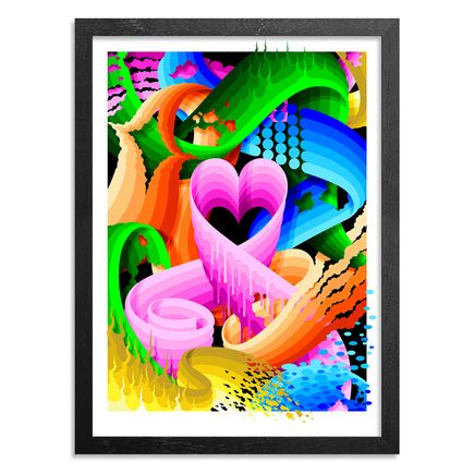 Ricky Watts Art Print - Love Wins