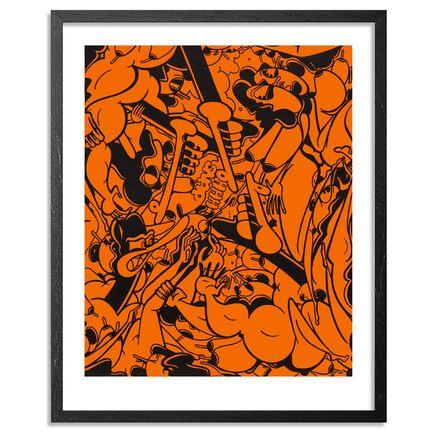 Rime Art Print - Word Down