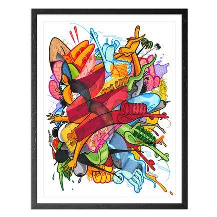 Rime Original Art - Ocean Slide - Original Artwork