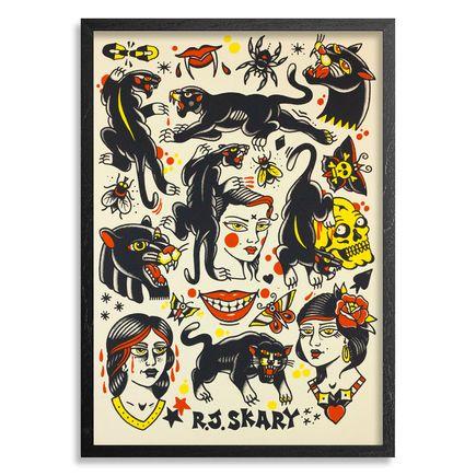 Dangerfork Art - R.J.Skary - Mostly Panthers