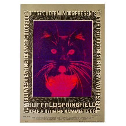 Robert Fried Art - Buffalo Springfield, The Eigth Penny Matter in Denver, Colorado - October 1967