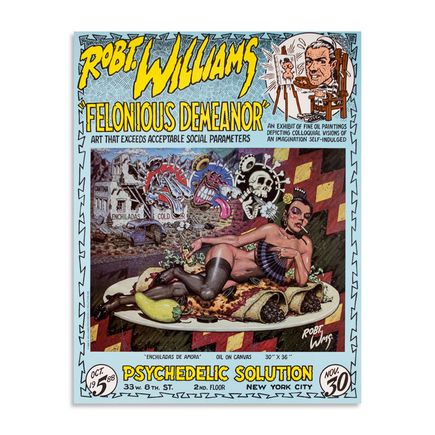 Robert Williams Art - Felonious Demeanor