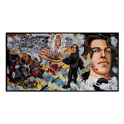 Robert Williams Art - Oscar Wilde in Leadville, L Imagerie