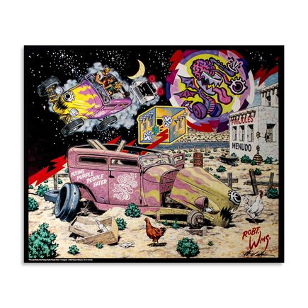 Robert Williams Art - The Last Ride Of The Flying Purple People Eater