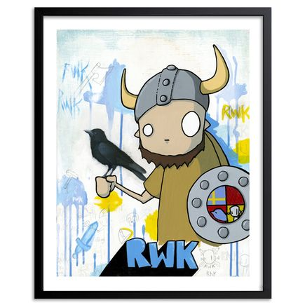 ChrisRWK + H.veng.smith Art Print - Robots Will Kill - Limited Edition Prints