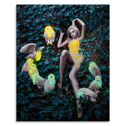 Rodrigo Luff Original Art - Psychic Undergrowth