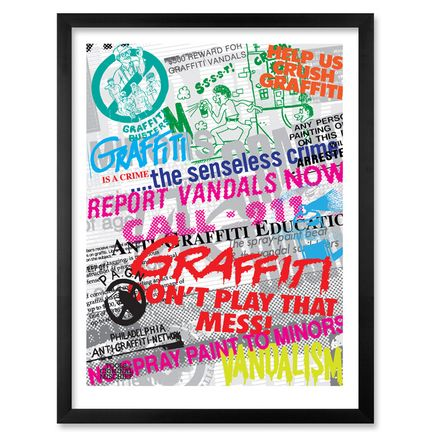 Roger Gastman Art Print - Anti-Graffiti Propaganda Case Study No.1