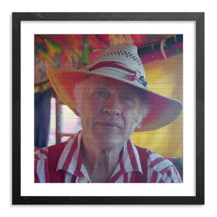 Roger Steffens / The Family Acid Art Print - Ken Kesey Aboard Further, July 1998 - Blotter Variant