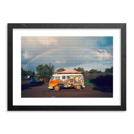 Roger Steffens / The Family Acid Art Print - Marrakech Rainbow, April 1971 - Blotter Variant