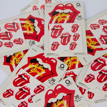 Rolling Stones Art - Rolling Stones Tongue - Sticker Pack
