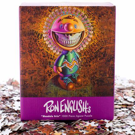 Ron English Art - Mandala Grin Puzzle Set