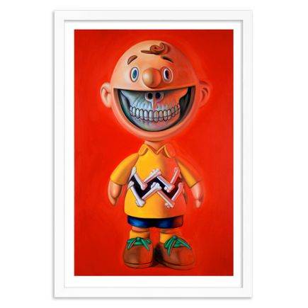 Ron English Art Print - Charlie Brown Grin - Limited Edition Prints