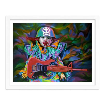 Ron English Art Print - Combrat Rising - Limited Edition Prints