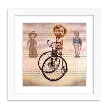Ron English Art Print - Hyper Jinx Tricycle - Blotter Edition