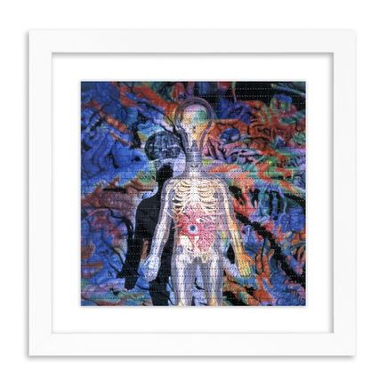 Ron English Art Print - Light Cult Man - Blotter Edition