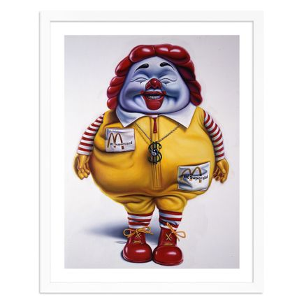 Ron English Art Print - McSupersized - Oversized Edition