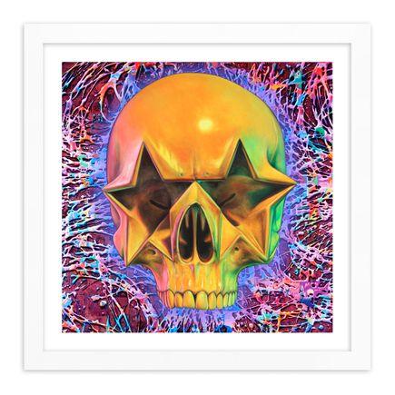 Ron English Original Art - Star Skull - 24 x 24 Inch Edition