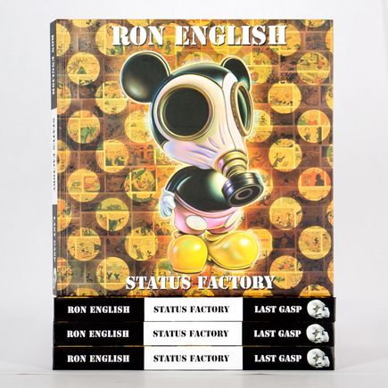 Ron English Book - Status Factory: The Art of Ron English